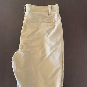 Under Armor Tan Shorts